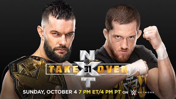 Finn Balor defends his NXT Championship against Kyle O'Reilly at NXT Takeover 31