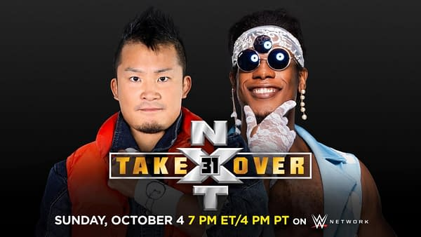 KUSHIDA faces Velveteen Dream in a grudge match at NXT Takeover 31