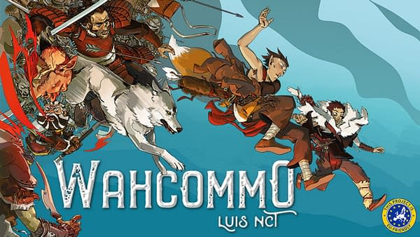 Wahcommo: Magnetic Press Announces Kickstarter for Graphic Novel