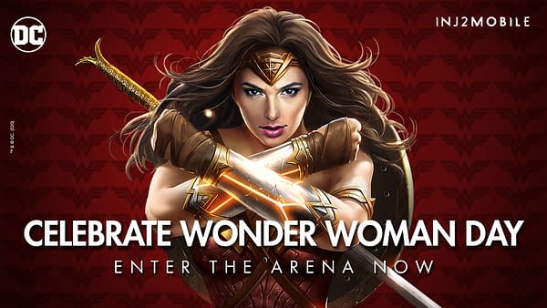 Wonder Woman Day is now in the Injustice 2 Mobile arena, courtesy of WB Games.