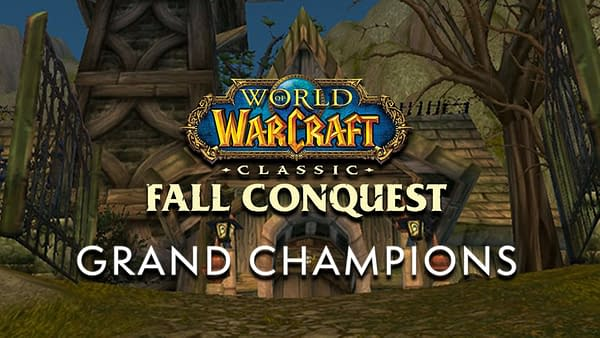 World Of Warcraft Classic Fall Conquest took place over the weekend for both NA and EU, courtesy of Blizzard.