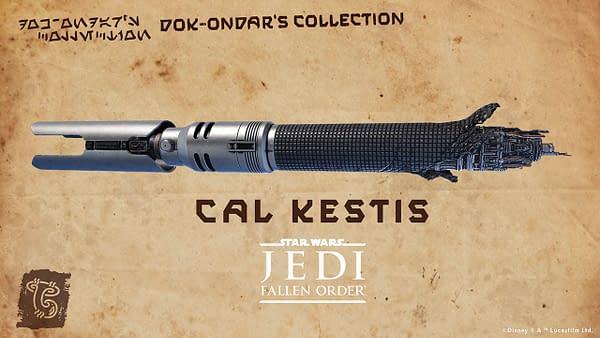 Star Wars Jedi: Fallen Order Cal Kestis Lightsaber Coming Soon