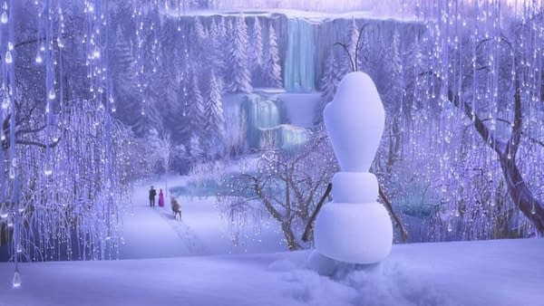 Once Upon a Snowman Explores the First Steps of Olaf