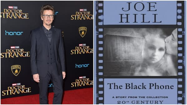 "Scott Derrickson at the world premiere of Marvel Studios' ""Doctor Strange"" at the El Capitan Theatre, Hollywood. Editorial credit: Featureflash Photo Agency / Shutterstock.com"