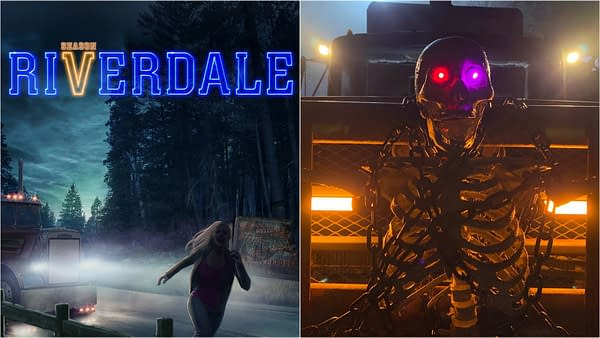 Riverdale released a sneak preview image for season 5 in honor of Halloween (Image: The CW).