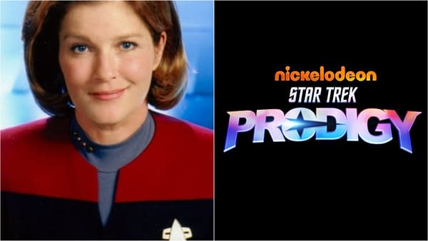 Star Trek Prodigy will feature the return of Captain Janeway (Images: ViacomCBS)