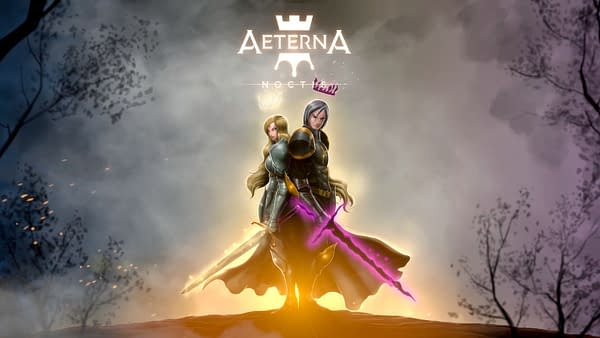 The King of Darkness and the Queen of Light ready to battle once more, courtesy of Aeterna Game Studio.