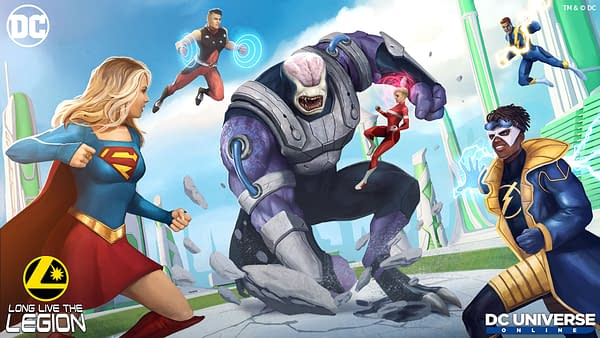 Long live The Legion indeed as they jump into DC Universe Online. Courtesy of Dimensional Ink Games.