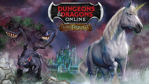 Yes, there are unicorns, but also a lot of weird things in Dungeons & Dragons Online. Courtesy of Standing Stone Games.