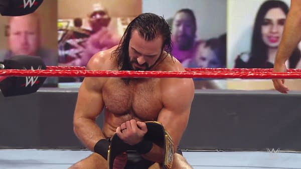 Drew McIntyre defeats Randy Orton to become WWE Champion on Monday Night Raw