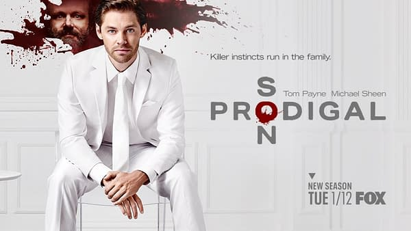 Prodigal Son key art for the second season. (Image: FOXTV)