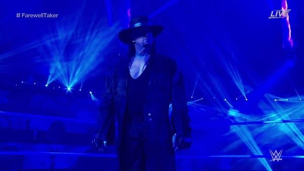 WWE's Tear-Jerking Final Farewell to the Undertaker 30 Year Reign