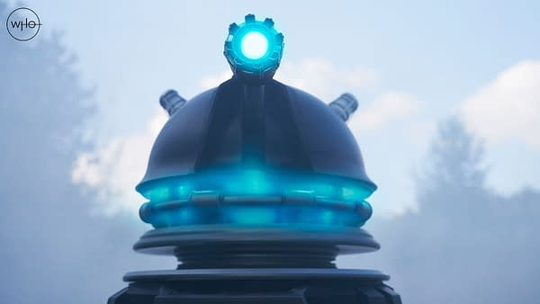 "Doctor Who ""Revolution of the Daleks"" preview images released (Image: BBC)"