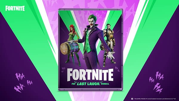 Joker, Poison Ivy, and Midas join Fortnite in this new bundle, courtesy of Epic Games.