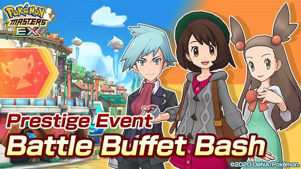 Battle Buffet Bash promo image. Credit: Pokémon Masters EX