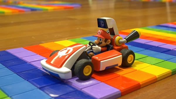 If you own Mario Kart Live, tell me you wouldn't want to race on this track. Courtesy of BCN3D.