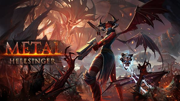 Metal: Hellsinger will be coming out sometime in 2021, courtesy of Funcom.