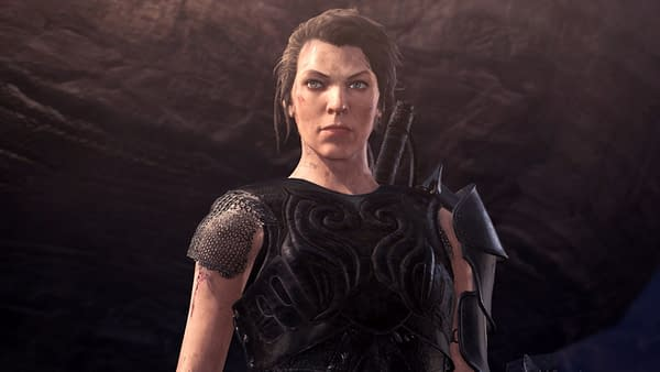 Milla Jovovich in another Capcom property? You don't say...