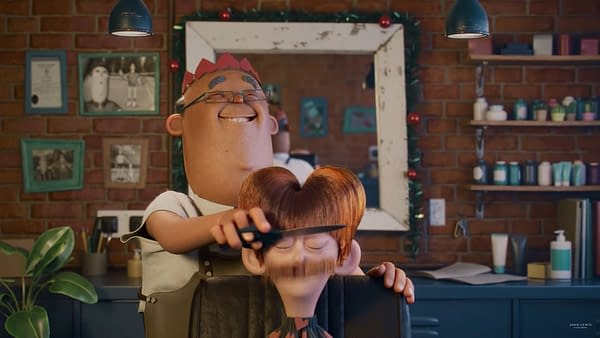 Celeste Sings In Many-Animated-Styles John Lewis Christmas 2020 Ad