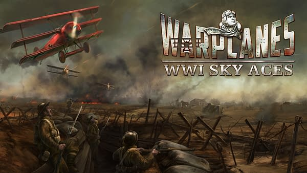 Take control of the stick during The Great War in Warplanes: WW1 Sky Aces, courtesy of 7Levels.