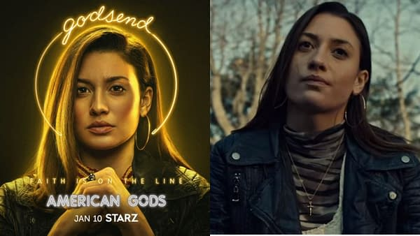 American Gods continued rolling out the season 3 character profiles (image: STARZ)