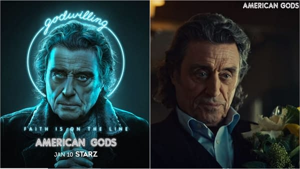 American Gods Season 3: Ian McShane talks Mr. Wednesday (Images: STARZ)
