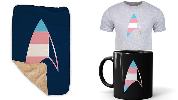 Star Trek: The GLAAD Collection. Image courtesy of Star Trek