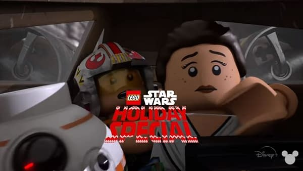 LEGO Star Wars Holiday Special arrives this month from Disney+ (Image: Disney+)