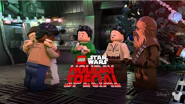 Star Wars Holiday Special arrives this month from Disney+ (Image: Disney+)