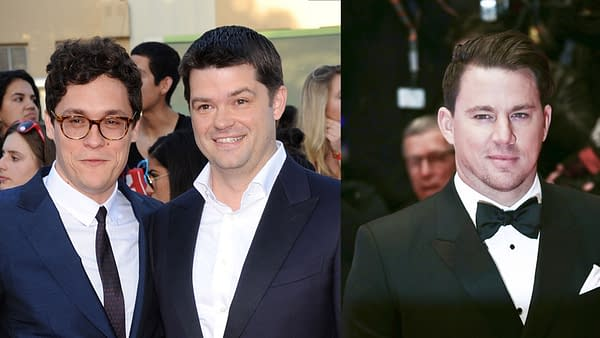 Phil Lord, Chris Miller and Channing Tatum