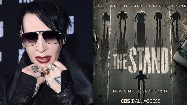 The Stand director clarifies Marilyn Manson rumors (Images: Kathy Hutchins & Shutterstock.com/ CBS All Access)
