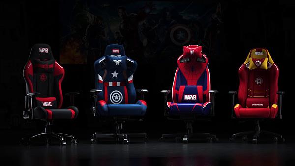 Avengers! Pasang ... untuk membuat tempat duduk yang nyaman. Atas kebaikan Andaseat.