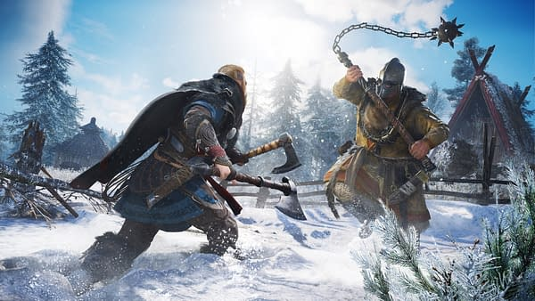 If I'm going to be forced to battle in the ice, I at least want to look pretty! Courtesy of Ubisoft.