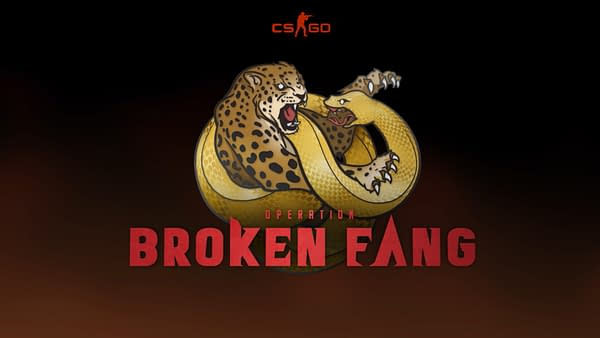 The Broken Fang logo from Counter-Strike: Global Offensive, courtesy of Valve Corporation.