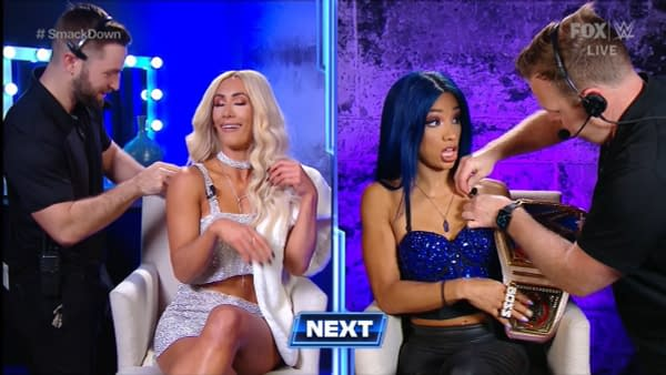 Carmella vs. Sasha Banks is one of the matches on the card for WWE TLC as of Smackdown last night.