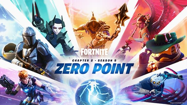 New Fortnite season, who dis? Courtesy of Epic Games.