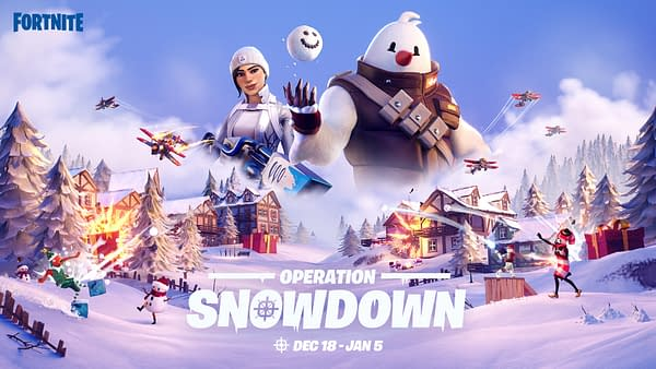 The snow is back, but what will it leave behind? Courtesy of Epic Games.