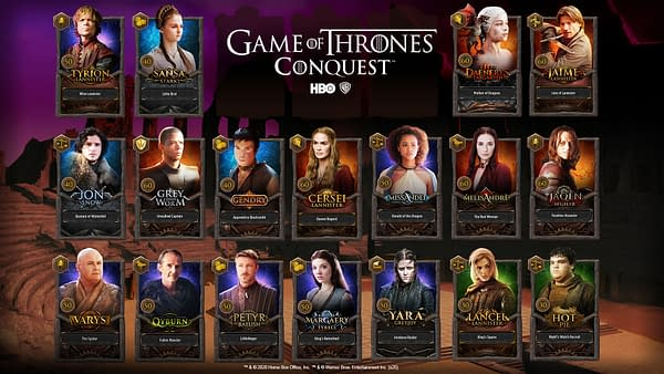 I need a hero! In Game Of Thrones: Conquest. Courtesy of WB Games