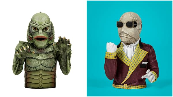 Creature and Invisible Man Join The Waxwork Records Spinatures Line