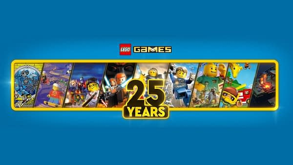 Yes, its true, they've been making LEGO games for 25 years. Courtesy of The LEGO Group.