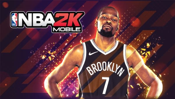 A look at new promo art for NBA 2K Mobile featuring Kevin Durant. Courtesy of 2K Games.