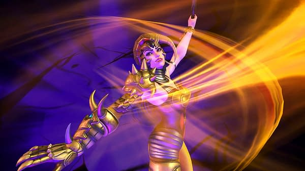 Scorpina, in all her glory, in Power Rangers: Battle For The Grid. Courtesy of nWay.