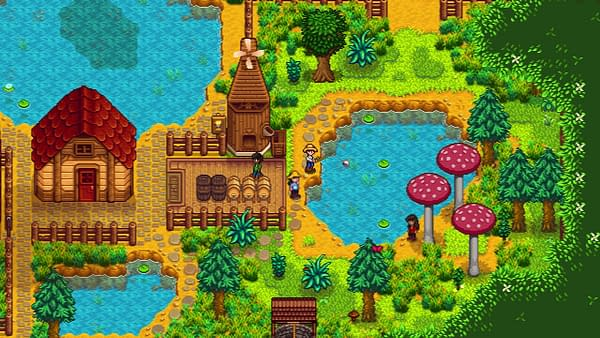 Have we talked to you about the new beachfront farm? Courtesy of ConcernedApe