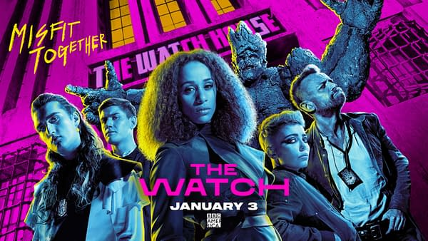 The Watch released a new trailer and key art (Image: BBC America)