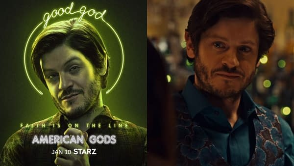 American Gods continued its Season 3 profiles (Image: STARZ)