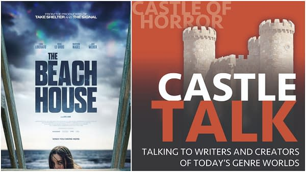 The Beach House poster and Castle Talk Logo used by permission