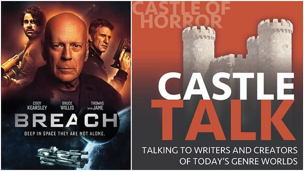 Breach poster and Castle Talk logo used by permission.
