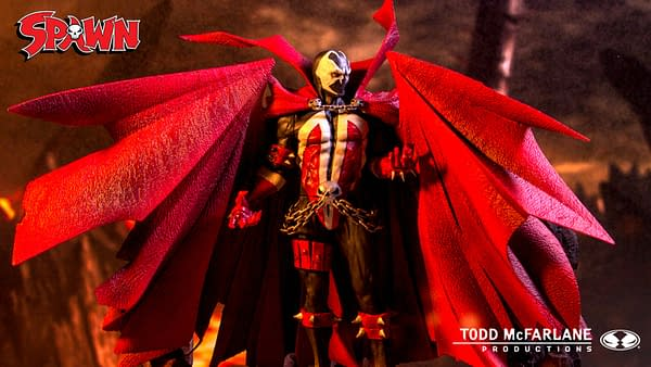 Spawn Remastered Gets Chain and Shipping Update From McFarlane Toys