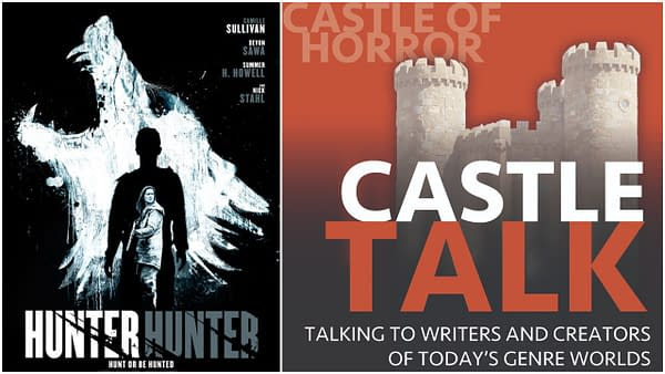 Hunter Hunter poster and Castle Talk logo used by permission.