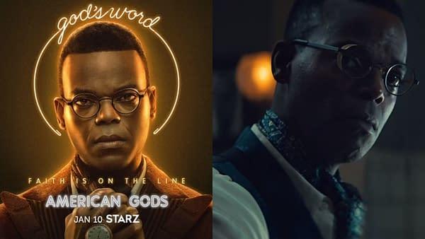 American Gods continued its Season 3 profiles (Image: STARZ)